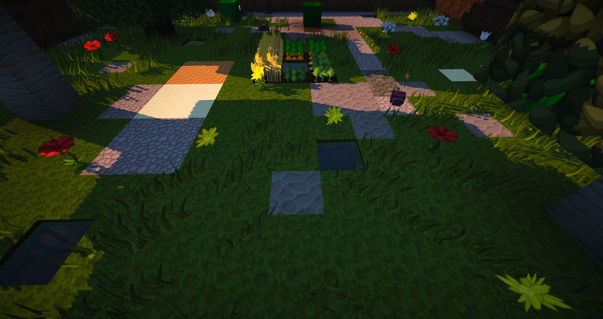 how to change seeing distance in minecraft pe