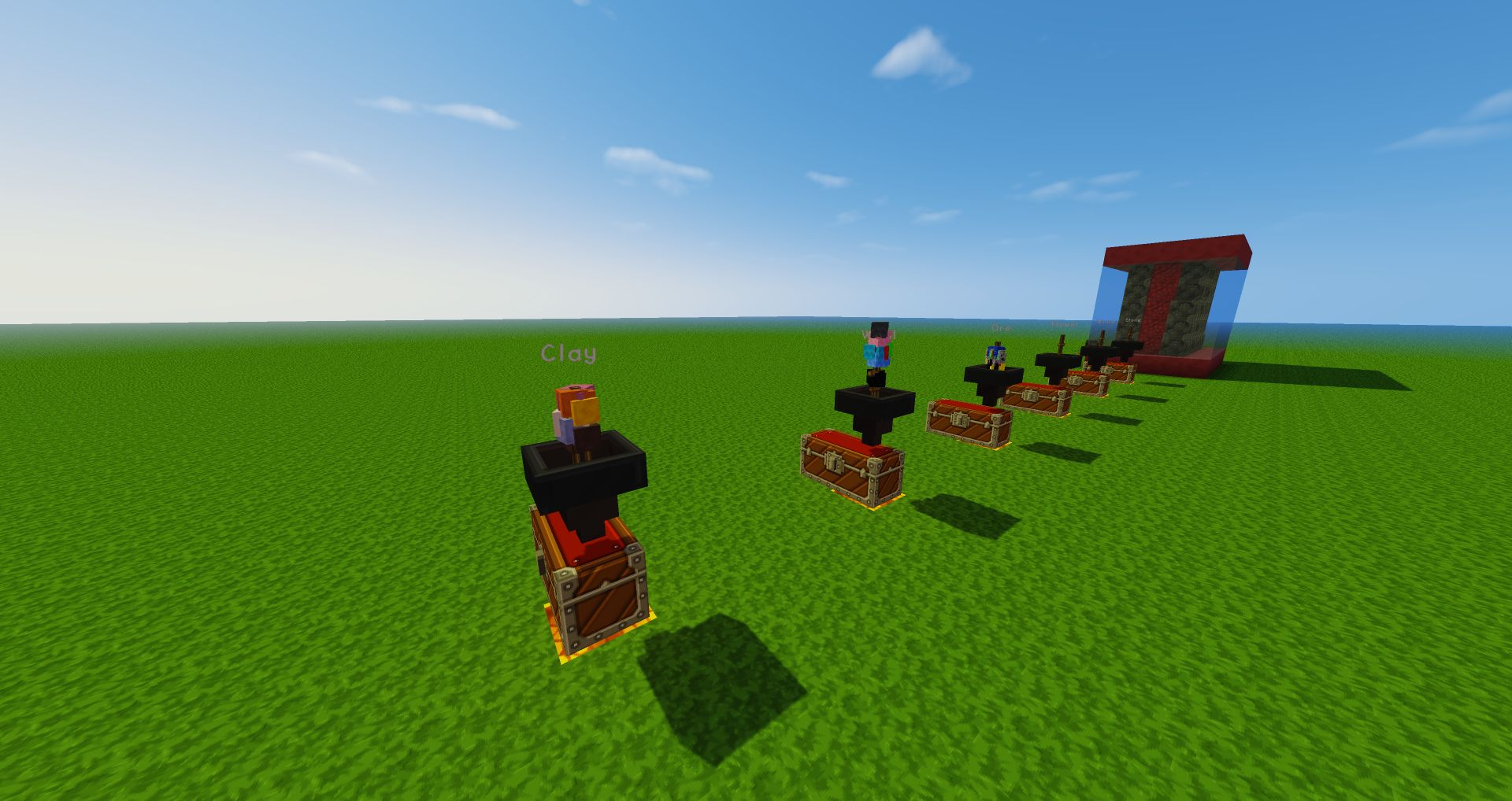 how to make a sorting machine in minecraft