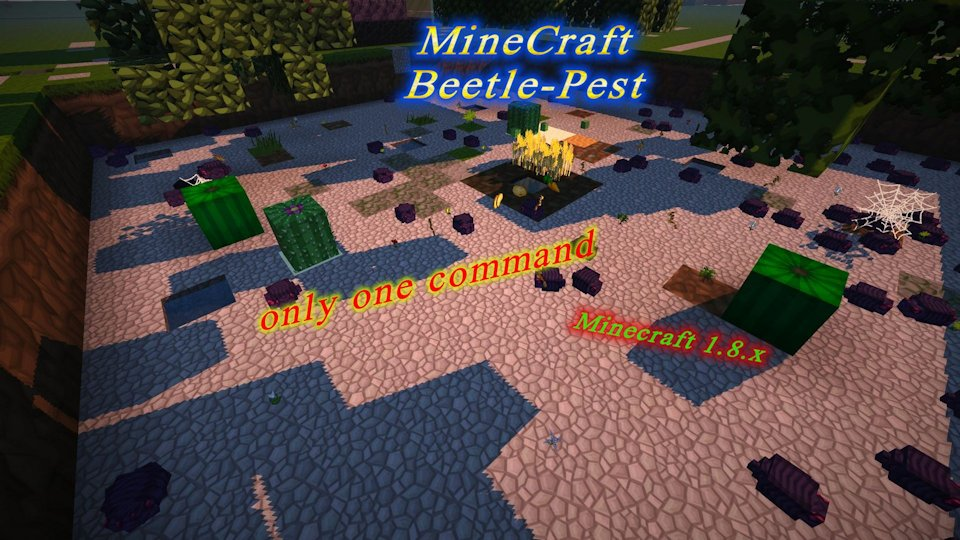 Create a terrible beetle pest virus command animal only one command