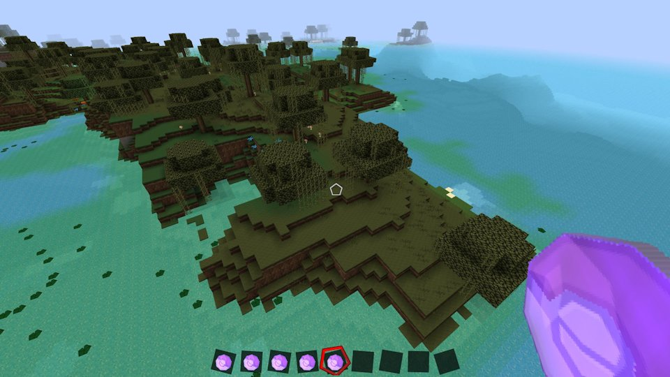 Minecraft terraforming only one command